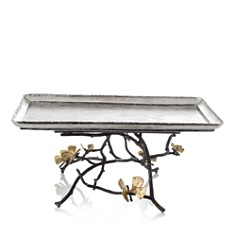 Michael Aram - Butterfly Ginkgo Footed Centerpiece Tray