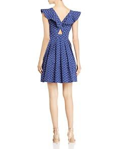 kate spade new york - Geo-Dot Flounce Dress