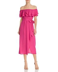 Show Me Your MuMu - Rosie Ruffled-Popover Dress