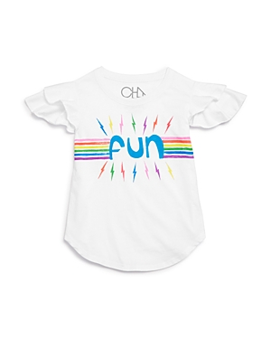 Chaser Girls' Fun Flutter Tee - Little Kid