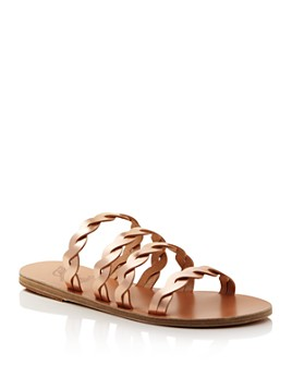 Ancient Greek Sandals - Women's Kynthia Braided Leather Sandals