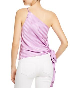 Michelle Mason - Silk One-Shoulder Top