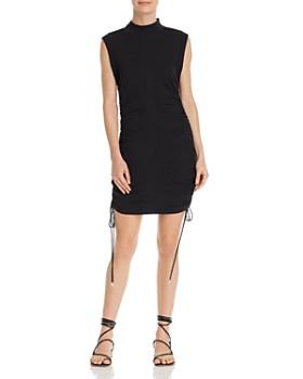 233a8608da33d alexanderwang.t - Ruched Mini Dress ...