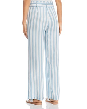 Billy T - Striped Tie-Waist Pants