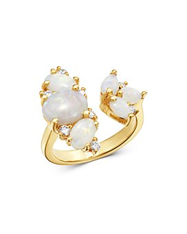 Bloomingdale's - Opal & Diamond Ring in 14K Yellow Gold - 100% Exclusive