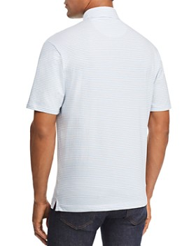 Johnnie-O - Cliffs Striped Regular Fit Polo Shirt