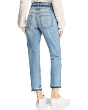 Hudson - Jessi Double-Waistband Boyfriend Jeans in Overthrow