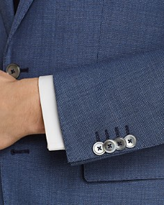 BOSS Hugo Boss - Hutson/Gander Textured Weave Slim Fit Suit