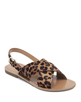 Marc Fisher LTD. - Women's Rite Leopard Print Sandals
