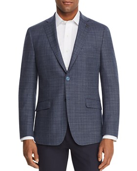 Psycho Bunny - Melange Basket-Weave Regular Fit Sport Coat