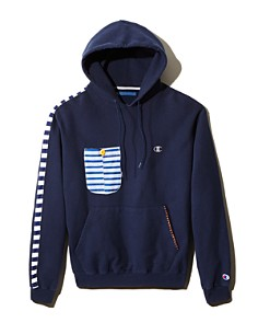 ATELIER AND REPAIRS - Patch-Pocket Hooded Sweatshirt - 100% Exclusive