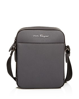 Salvatore Ferragamo - Revival Coated Leather Messenger Bag