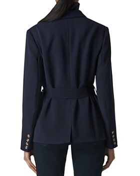 Whistles - Double-Breasted Belted Blazer