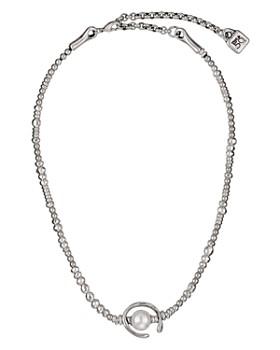 "Uno de 50 - Another Round Necklace, 14"""