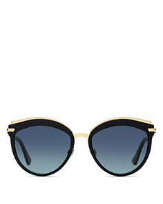 Dior - Women's Dior Offset 2 Oversized Round Sunglasses, 57mm