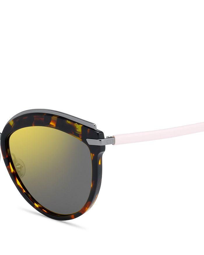 afc1b19ee Dior Women's Dior Offset 2 Mirrored Oversized Round Sunglasses, 57mm ...
