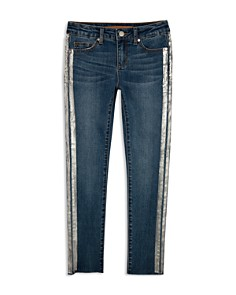 JOE'S - Girls' Metallic-Stripe Skinny Jeans - Little Kid