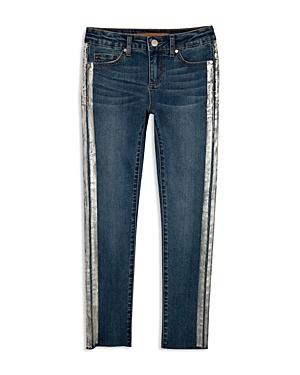 JoeS Girls MetallicStripe Skinny Jeans  Little Kid