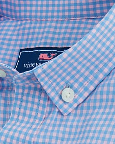 Vineyard Vines - Boys' Gingham Whale Dress Shirt - Little Kid, Big Kid