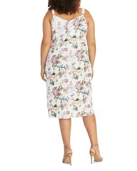 Rachel Roy Plus - Caroline Sequined Floral Dress