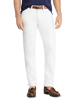 Polo Ralph Lauren - Varick Slim Straight Jeans in White