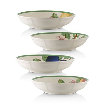 Villeroy & Boch - French Garden Modern Fruit Pasta Bowls, Set of 4