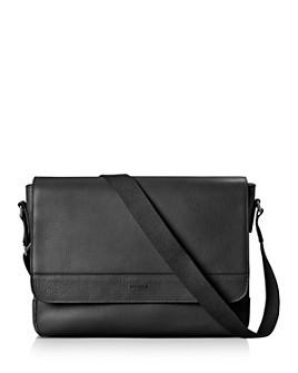 Shinola - Signature Leather Slim Messenger Bag