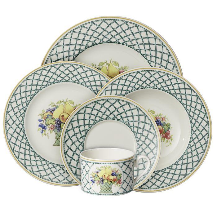 Villeroy & Boch - Basket Garden Dinnerware Collection