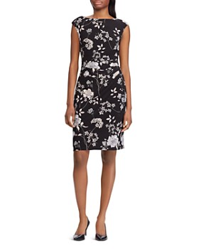 46f06114736 Ralph Lauren - Ruched Floral Dress ...