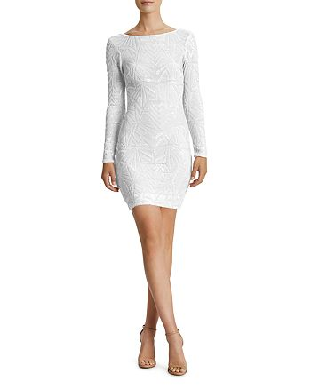 Dress the Population - Lola Art Deco Sequined Dress