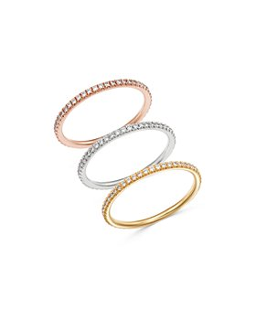 Bloomingdale's - Diamond Stacking Band in 14K Gold