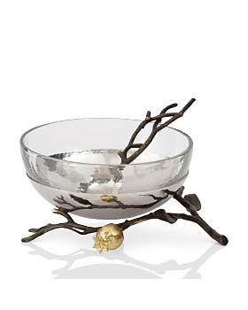 Michael Aram - Pomegranate Glass Bowl & Serving Spoon