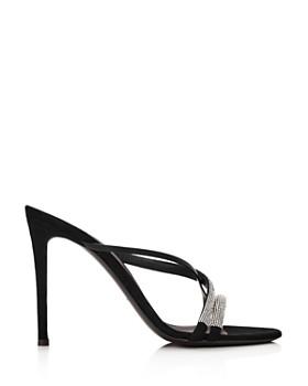 Giuseppe Zanotti - Women's PF19 Crystal-Embellished High-Heel Sandals