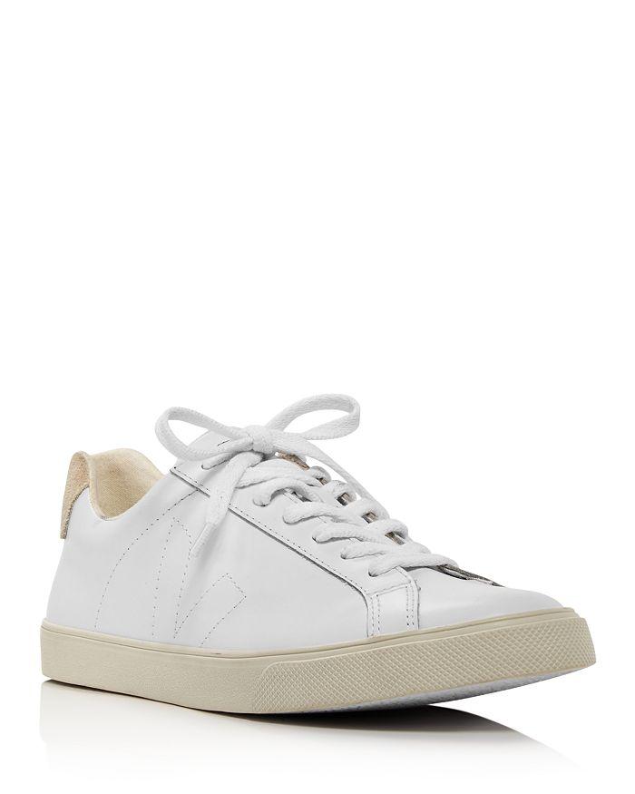 VEJA - Women's Esplar Low-Top Leather Sneakers