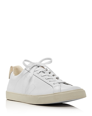 Veja Sneakers WOMEN'S V-10 EXTRA WHITE LOW TOP SNEAKERS