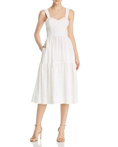 Rebecca Vallance - Valentina Heart-Motif Eyelet-Lace Dress