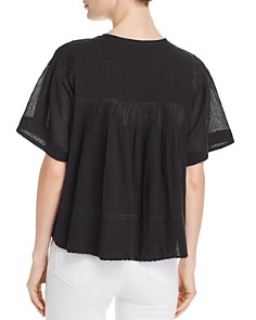 Joie - Serapia Pintucked Top