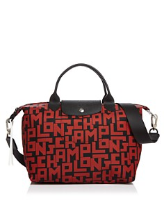 Longchamp - Le Pliage Medium Logo Tote