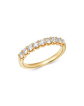 Bloomingdale's - Diamond 9-Stone Classic Band in 14K Yellow Gold, 0.60 ct. t.w. - 100% Exclusive
