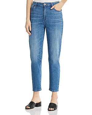 Eileen Fisher Jeans TAPERED ANKLE JEANS IN SOLAR BLUE