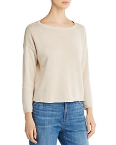 Eileen Fisher - Cropped Sweater