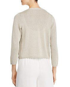 Eileen Fisher - Cropped Open-Front Cardigan