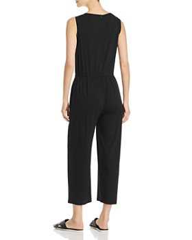 Eileen Fisher - Cropped Wide-Leg Jumpsuit