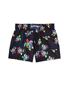 Vilebrequin - Boys' Jim Over The Rainbow Turtle-Print Swim Trunks - Little Kid, Big Kid