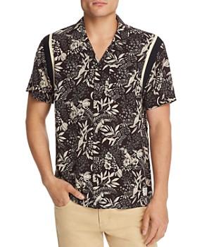 Scotch & Soda - Short-Sleeve Hawaiian Slim Fit Shirt