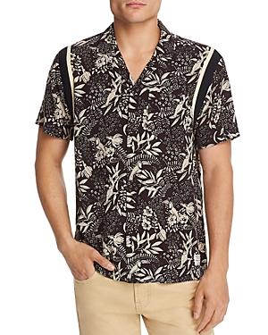 Scotch & Soda T-shirts SHORT-SLEEVE HAWAIIAN SLIM FIT SHIRT