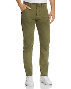 G-STAR RAW - 5620 3D Strike Straight Fit Jeans in Sage