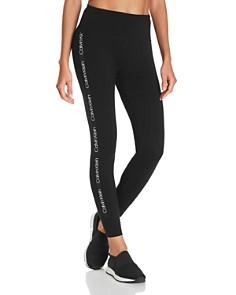 Calvin Klein - Logo-Trim Leggings