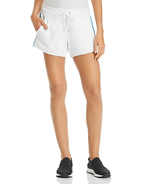 Calvin Klein Performance Striped-Trim Drawstring Shorts