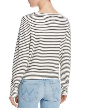 MOTHER - The Matchbox Striped Sweatshirt